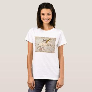 Vintage Unicorn Star Card Astrology T-Shirt