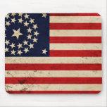 Vintage Union Flag Mouse Pad