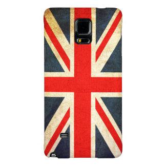 Vintage Union Jack British Flag Galaxy Note 4 Case