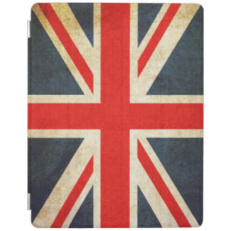 Vintage Union Jack British Flag iPad Cover