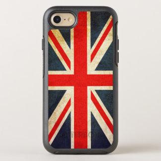Vintage Union Jack British Flag OtterBox Symmetry iPhone 7 Case