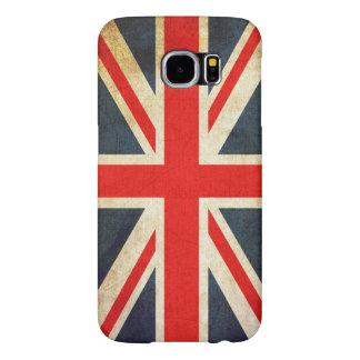 Vintage Union Jack British Flag Samsung Galaxy S6 Cases