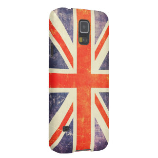 Vintage Union Jack flag Galaxy S5 Case