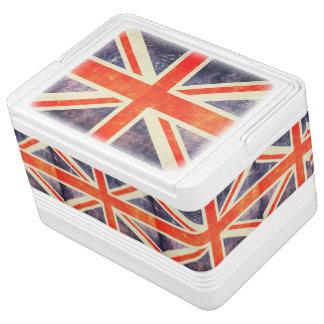 Vintage Union Jack flag Igloo Cool Box