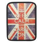 Vintage Union Jack flag iPad Sleeve