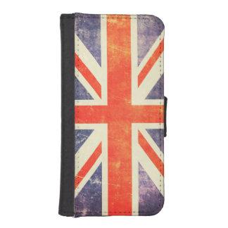 Vintage Union Jack flag iPhone SE/5/5s Wallet Case