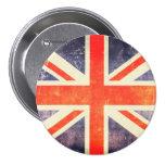 Vintage Union Jack flag Pin