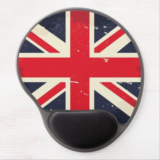 Vintage Union Jack Gel Mousepad