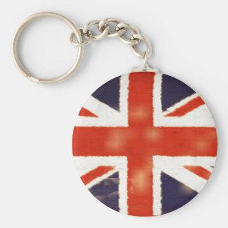 Vintage Union Jack Keychain