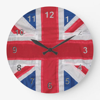 Vintage Union Jack Large Clock