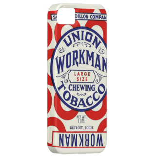 Vintage Union Workman Chewing Tobacco Poster Case For The iPhone 5