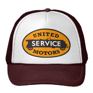 Vintage United Service Motors sign Hat