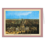 Vintage United States Capitol Greeting Card