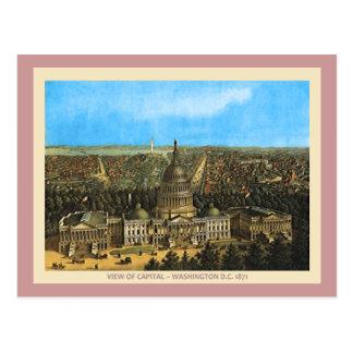Vintage United States Capitol Postcard