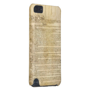 Vintage United States Constitution iPod Touch (5th Generation) Covers