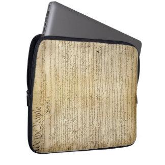 Vintage United States Constitution Laptop Sleeve