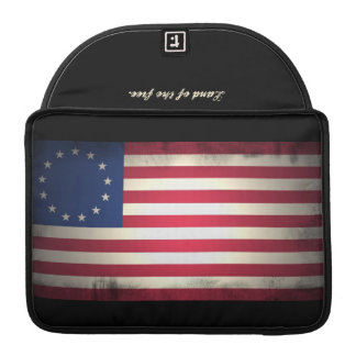 Vintage United States Flag Macbook Cover Sleeves For MacBooks