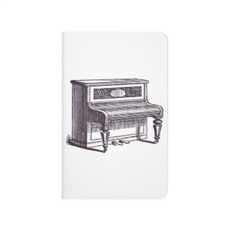 Vintage Upright Piano Journal