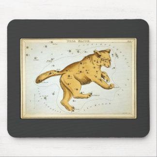 Vintage Ursa Major Bear Mouse Pad
