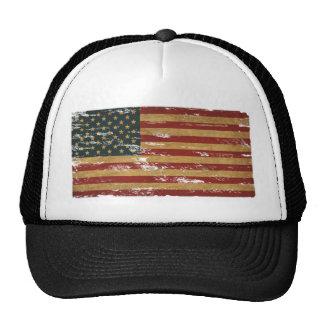 Vintage US Flag Hats