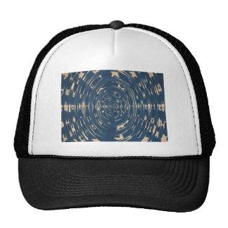 Vintage US Flag Stars Swirled Hat