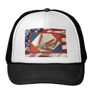 Vintage USA, 4th July, firecrackers Trucker Hats