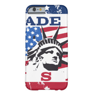 Vintage USA Badge Barely There iPhone 6 Case