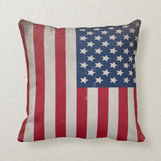 Vintage USA Flag Cushion