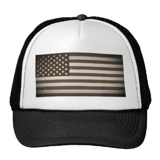 Vintage USA Flag Mesh Hats