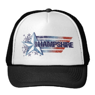 Vintage USA Flag with Star – New Hampshire Mesh Hat