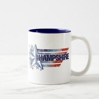 Vintage USA Flag with Star – New Hampshire Mugs