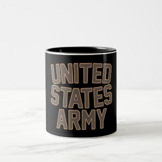 Vintage USA Two-Tone Coffee Mug