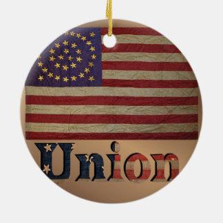 Vintage USA Union Flag Christmas Ornament