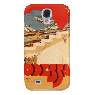 Vintage USSR Travel Poster Galaxy S4 Case