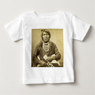 Vintage Ute Indian Poker Player with Pistol Shirts