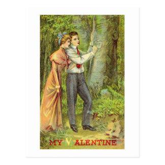 Vintage Valentine  (222) Postcard