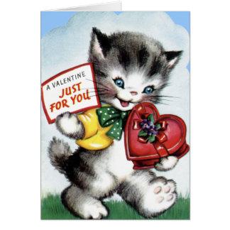 Vintage Valentine Card for Kids!