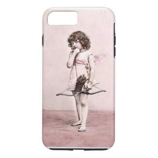 Vintage Valentine Cautious Cupid iphone case