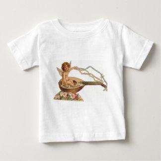 Vintage Valentine Cupid Loves Melodies Baby T-Shirt