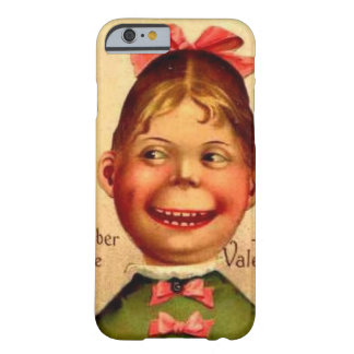 Vintage Valentine girl phone case