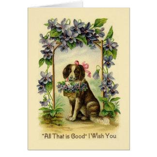 Vintage Valentine Greeting Card