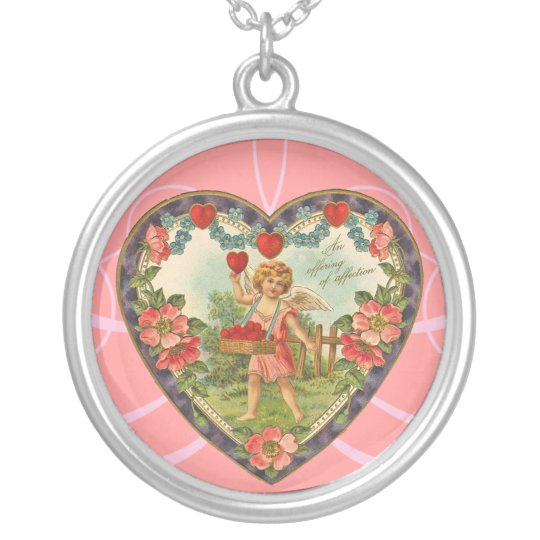 Vintage Valentine Necklace