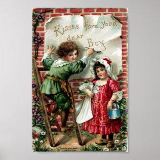 Vintage Valentine Poster
