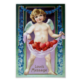 Vintage Valentine Posters