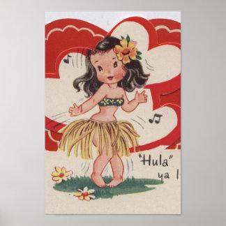 Vintage Valentine - Poster