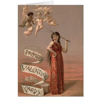 Vintage : Valentine's day - Greeting Card