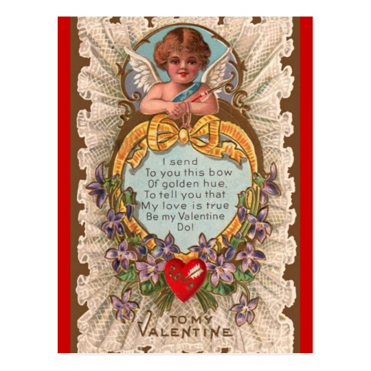 Vintage Valentine's Day Greeting postcard