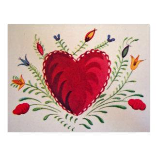 Vintage : Valentine's day - Postcard