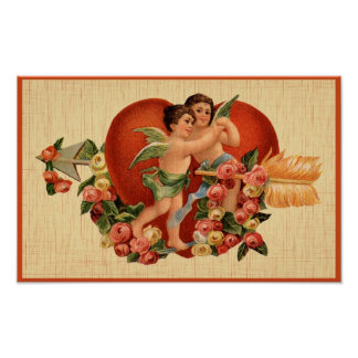 Vintage Valentine's Day Poster