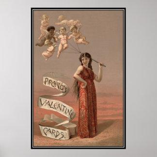 Vintage : Valentine's day - Poster